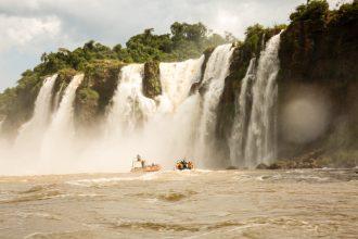 Iguazu Falls boat ride