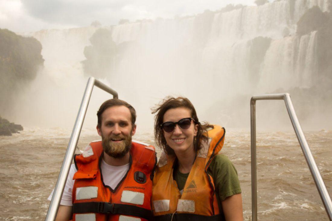 Iguazu Falls boat ride!