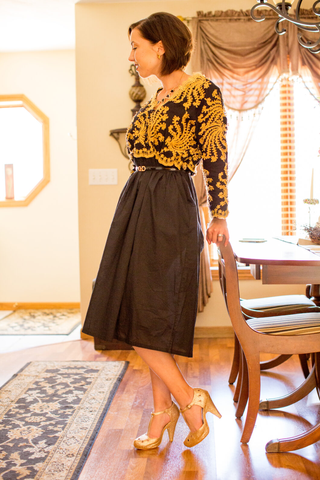 A Formal Yet Comfortable Dress