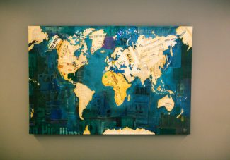 I want this in my home one day! One of the pictures in a flex room.