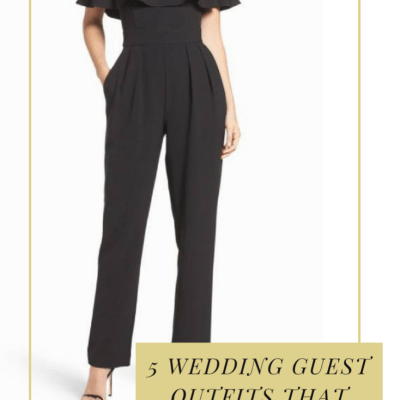 5 Wedding Guest Outfit Ideas That *Are Not* a Dress