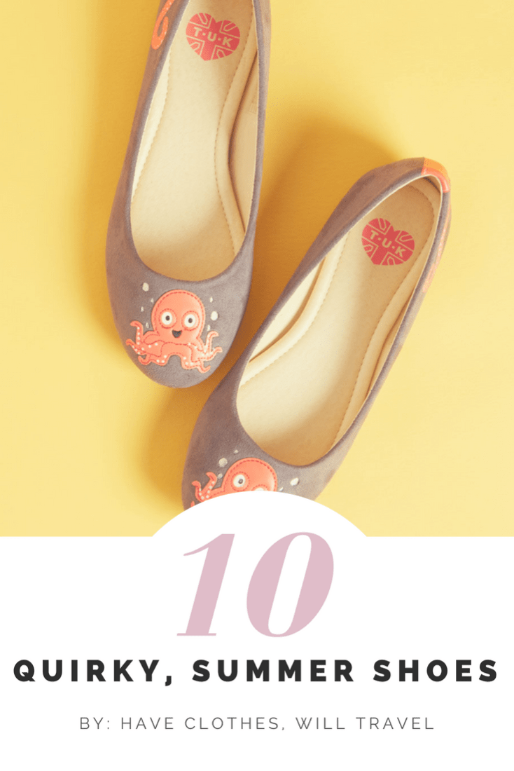 10 of the Quirkiest, Summer Shoes (Available Online)
