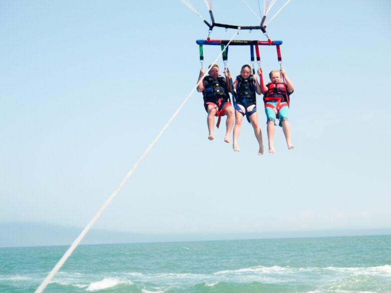 parasailing in Myrtle Beach