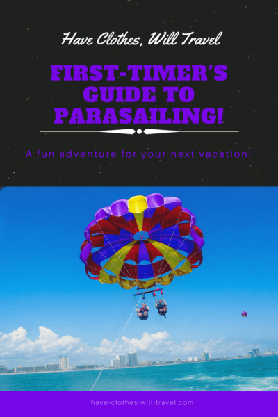 first-timer's guide to parasailing