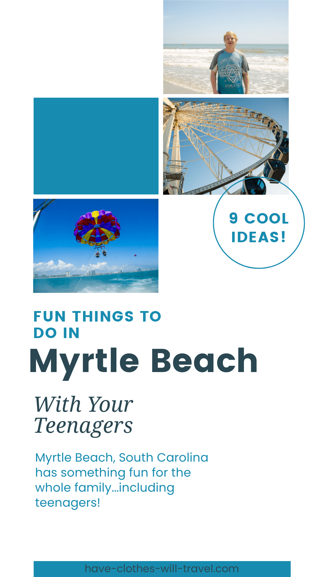 Myrtle Beach Fun Things to do With Your Teenagers