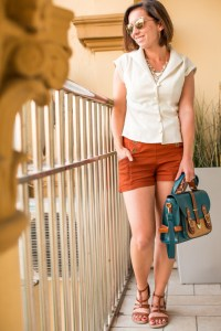 Vintage inspired summer outfit