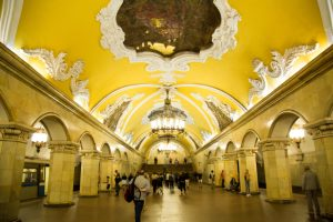 Moscow metro - best things to do in Moscow