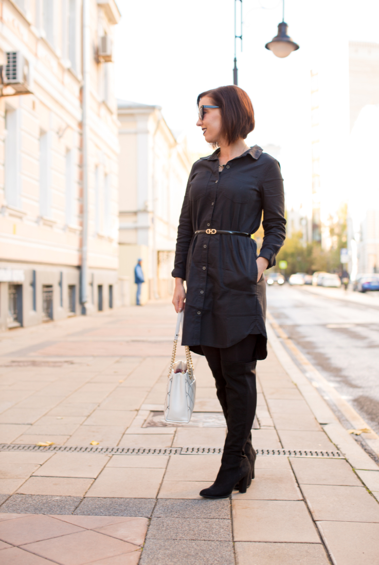 A Stylish & Sustainable Shirt Dress