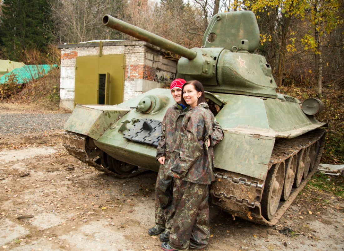 Tank Driving & Shooting Tour in Moscow, Russia