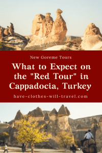 What to Expect on the Red Tour in Cappadocia, Turkey with New Goreme Tours