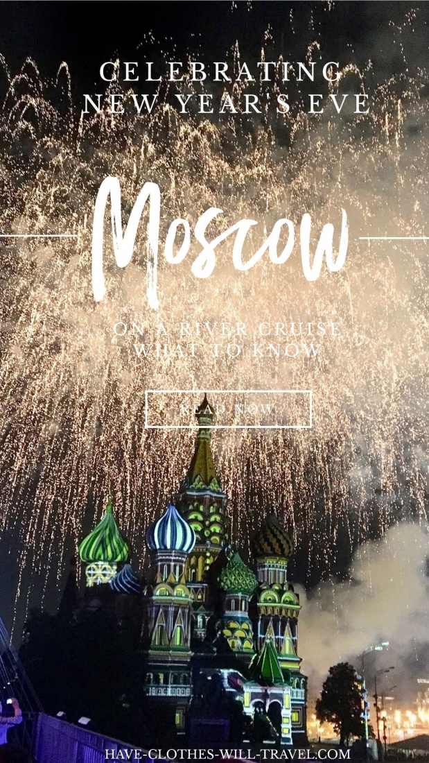 Moscow, Russia for New Year's Eve - River Cruise Review