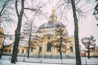 Photos of St. Petersburg During Winter
