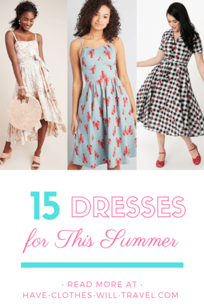 15 Adorable, Summer Dresses (That You Can Buy Online)