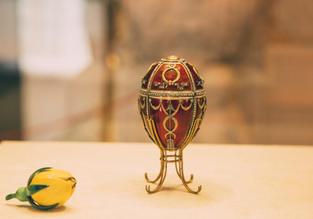 The Rosebud egg