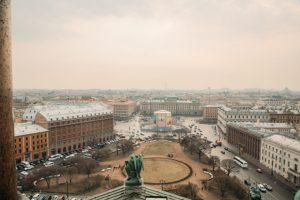 Best view of St. Petersburg, Russia
