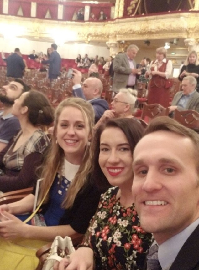 Inside the Bolshoi Theatre