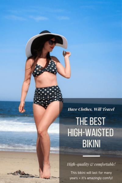 The BEST High-Waisted Bikini + a $100 Gift Card Giveaway!