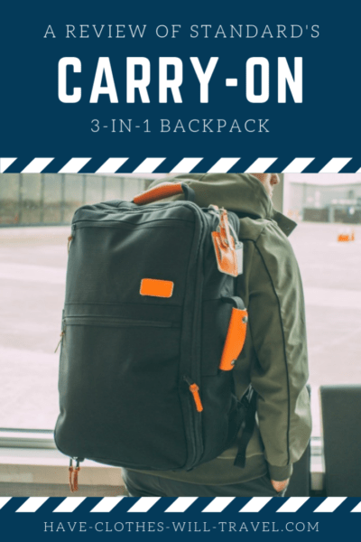 Standard's Carry-on Backpack Review