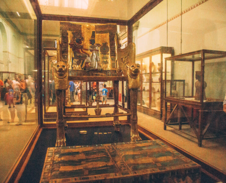 King Tut's Throne
