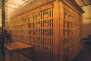 1 of the sarcophaguses that King Tut was buried in.