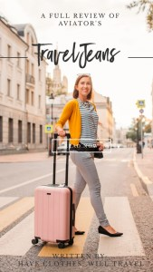 AVIATOR TRAVEL JEANS REVIEW