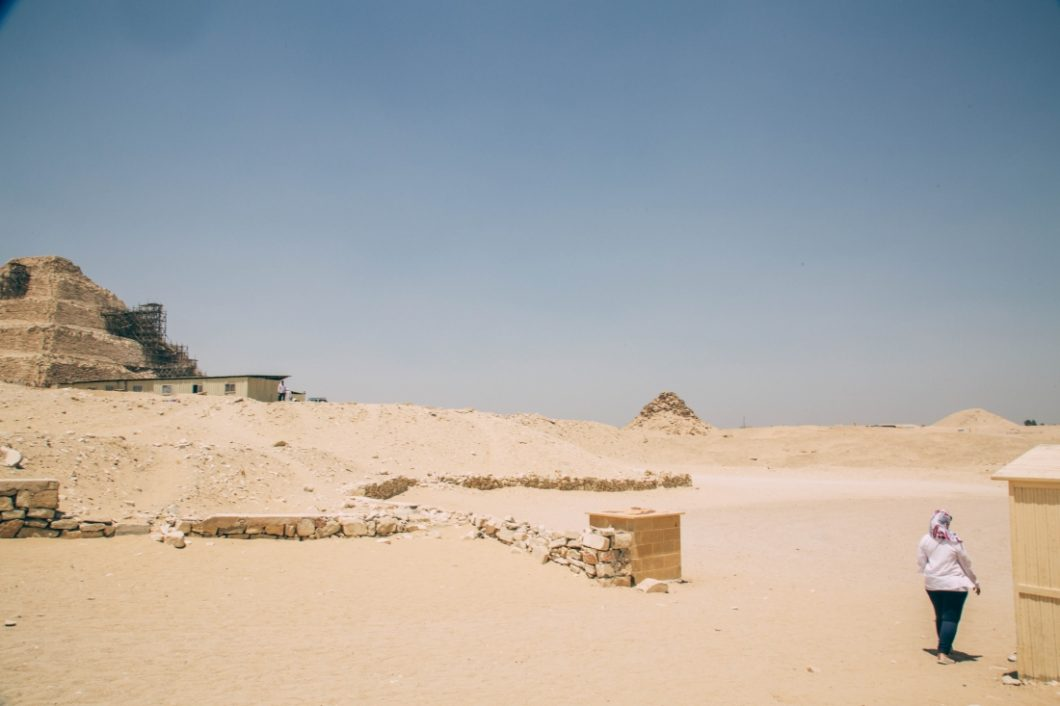 More Pyramids Near Cairo - Saqqara (Djoser's Step Pyramid) + Ancient City of Memphis