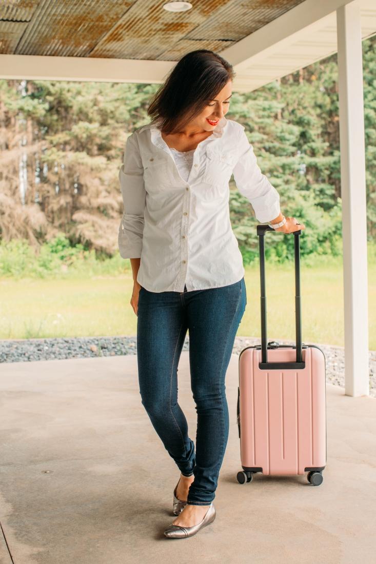 Aviator Slim Skinny Fit Travel Jeans Review (Dark Indigo)