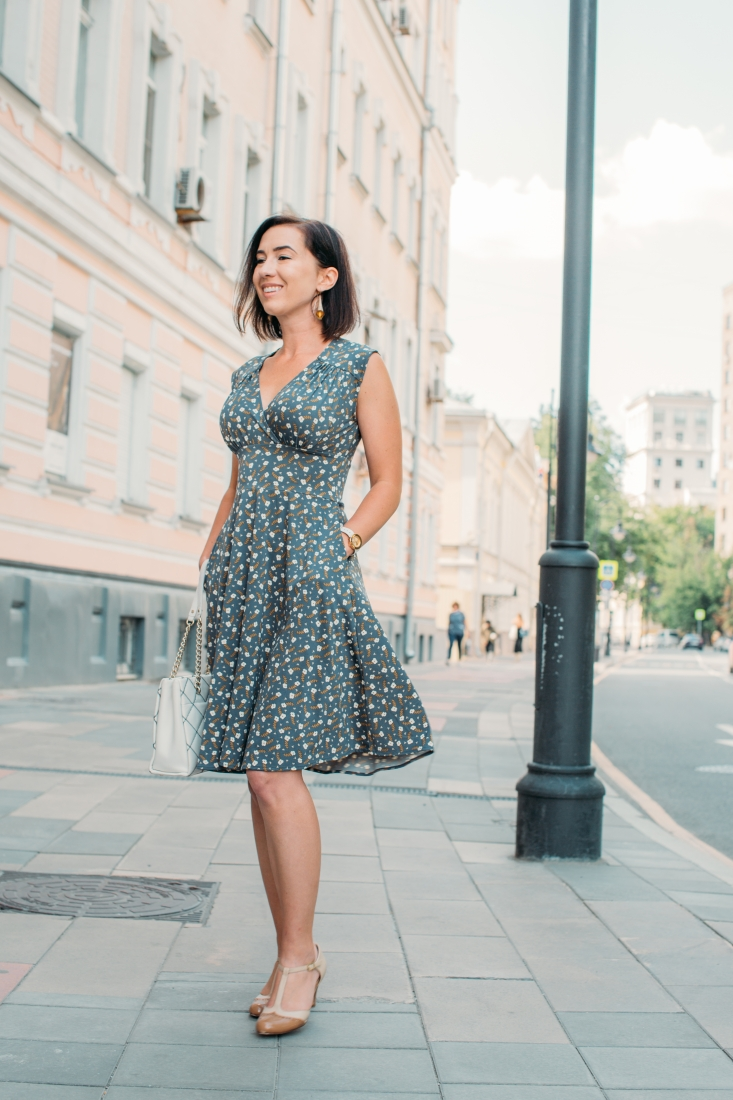 Stylish and Packable Travel Dress