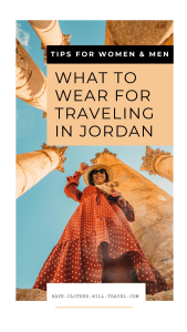 How to Dress in Jordan as a Woman (Tips for men too!)