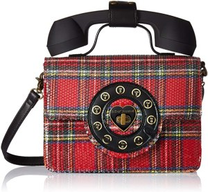 Betsey Johnson Answer Me Phone Bag