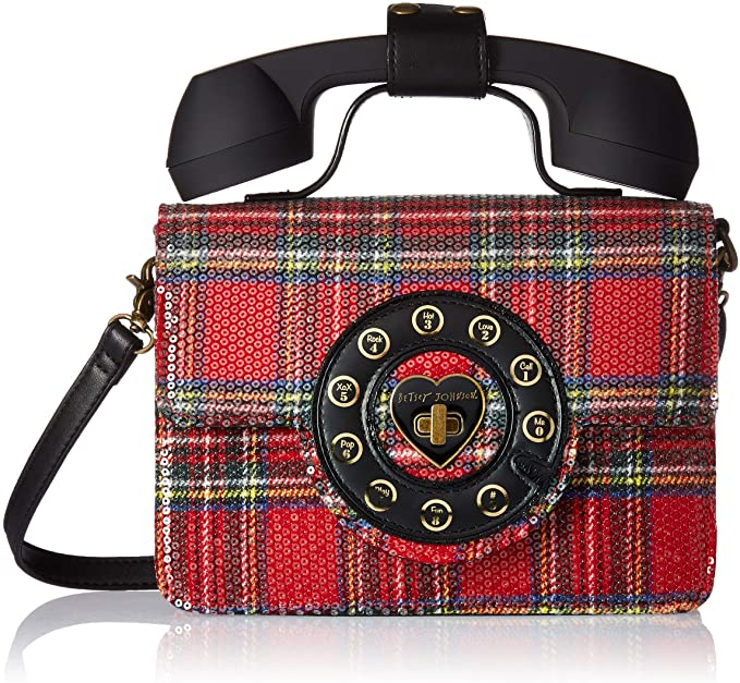 Betsey Johnson Answer Me Phone Bag