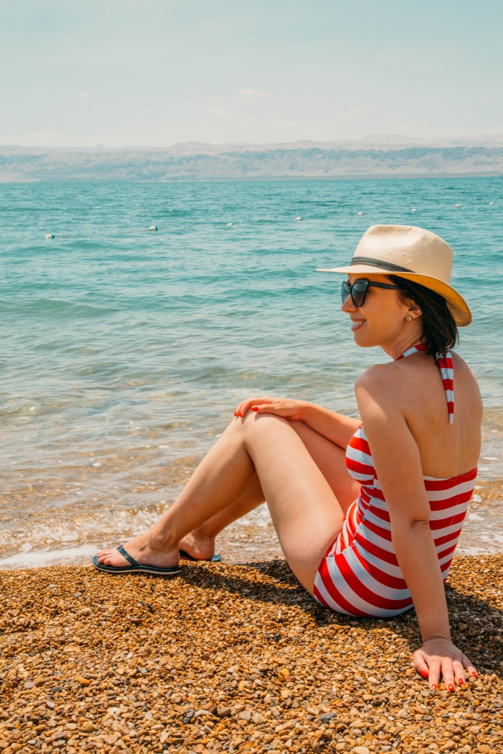 What I Wore to Float in the Dead Sea (Jordan)