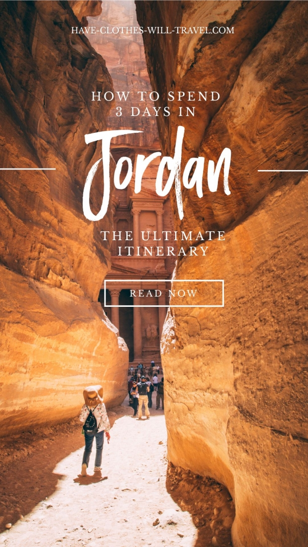How to Spend 3 Days in Jordan - The Ultimate Itinerary