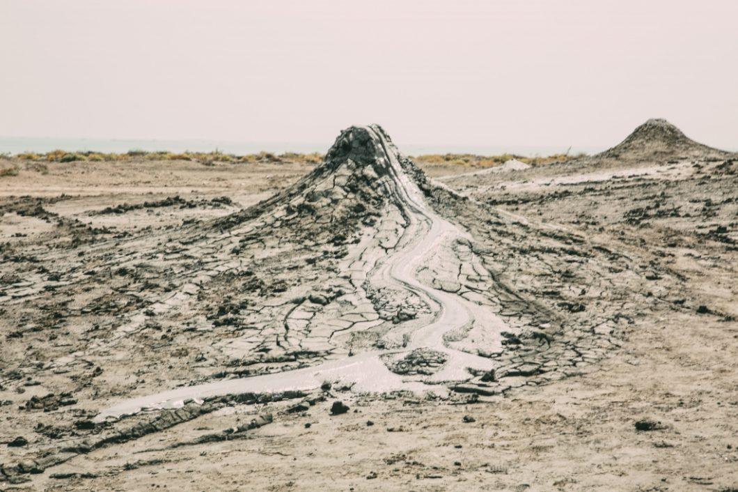 Gobustan mud volcanoes