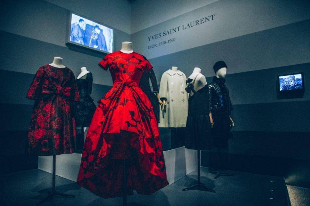 Photos of the Dior Exhibit