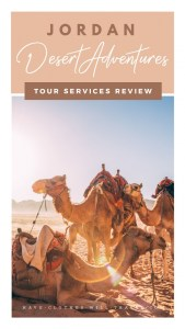 """Desert Adventures"" Tour Services Review for Jordan"