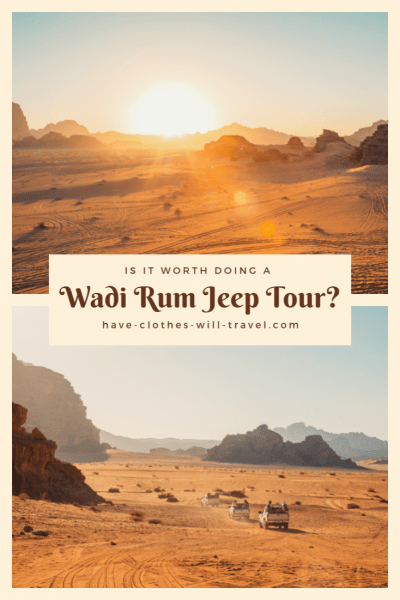 Wadi Rum, Jordan Jeep Tour – Is It Worth Doing?