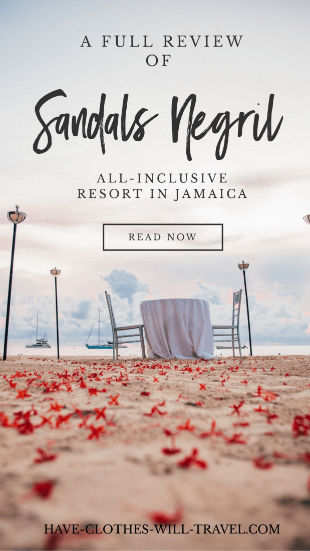 Sandals Negril Beach Resort and Spa Review + Photos