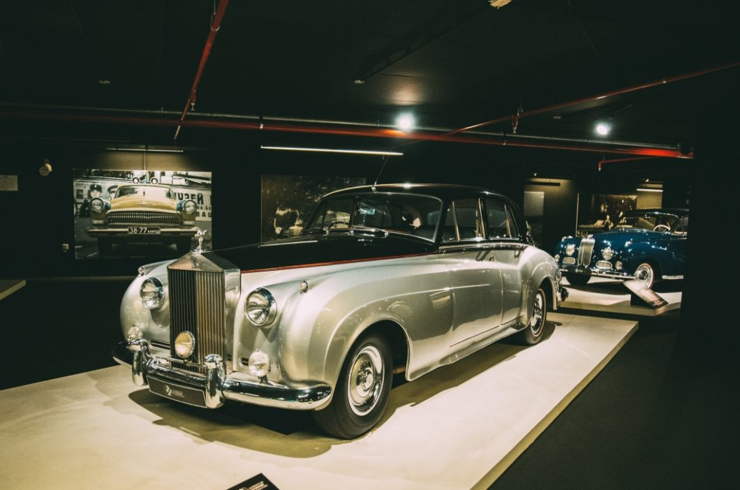 """""""The exhibition of classic cars"""" launched in Heydar Aliyev Center"""