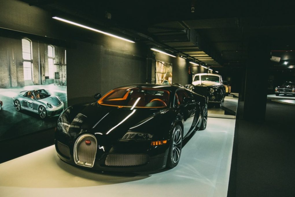 Bugatti is in the Classic Car exhibit