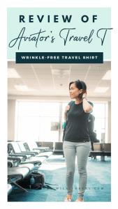 Aviator Travel T-Shirt Review
