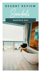 Sandals Montego Bay Review.