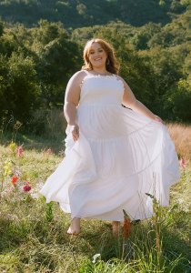 Boho on the Range Smocked Maxi Dress