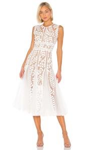 Saba Blanc Midi Dress Bronx and Banco brand: Bronx and Banco