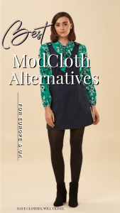 The Best ModCloth Alternatives in Europe With Retro & Vintage-Style Clothing // Featuring stores that are all available in Europe and the UK. #vintagestyle #retroclothing #modcloth