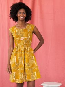 Chilmark Dress Gold by Mata Traders