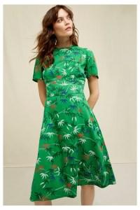 V&A Bamboo Print Obi Dress