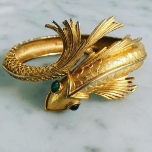 Koi Cuff Kelley Hollis Jewelry