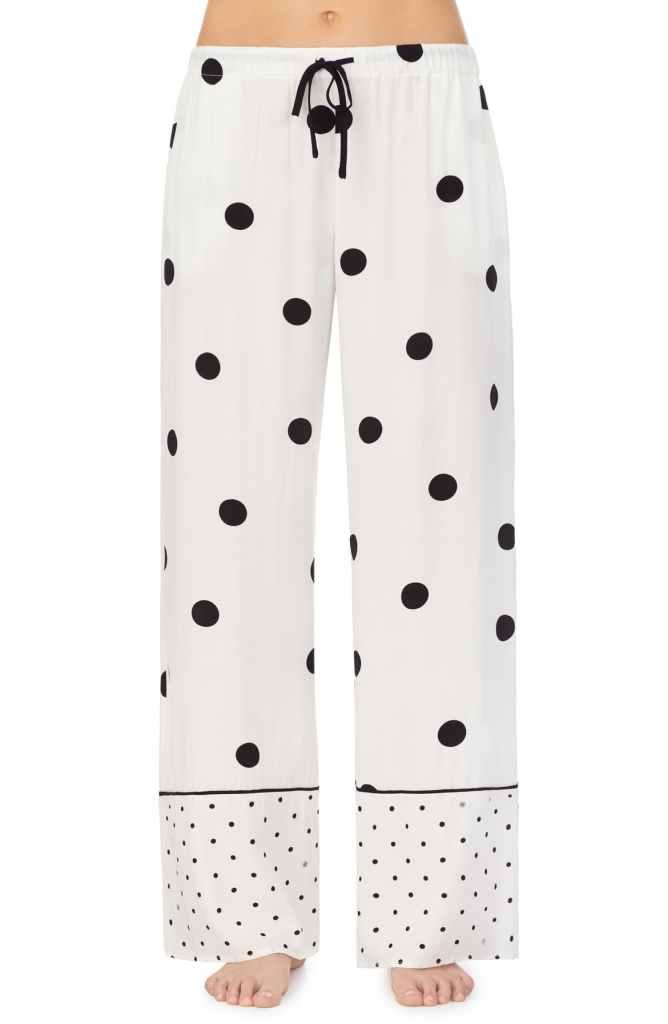 cute loungewear sets and bottoms - polka dot sweatpants