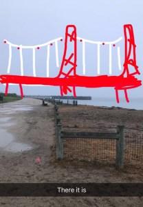 "Golden Gate Bridge ""expectation vs reality"" funny travel photo"